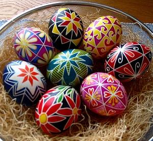 Радионица фарбања ускршњих јаја у Етнографском музеју